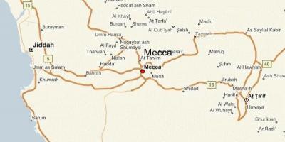Mecca / Makkah, anzeigen - Karten, Mecca / Makkah (Saudi-Arabien)