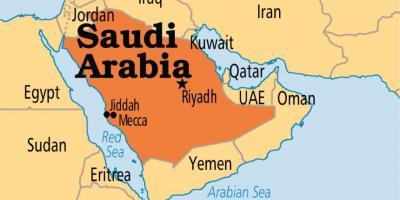 Karte Anzeigen.Mekka Anzeigen Macca Karte Saudi Arabien